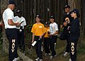 US Navy 090625-N-8770A-003 Navy Junior ROCT cadets look for the next control point on their map while orienteering at Fort Casey.jpg
