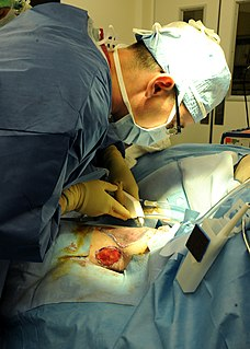 use of surgery to restore the form and function of the body