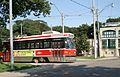 UTDC streetcar 4222 leaving the Neville Park loop.jpg