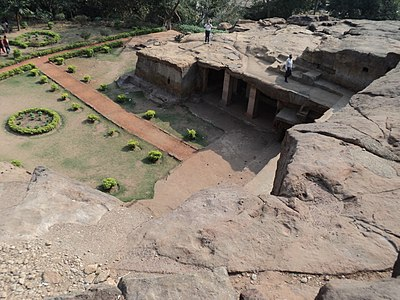 Udayagiri and Khandagiri Caves7.JPG