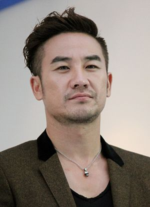 Uhm Tae-woong - Image: Uhm Tae woong at BIFF 2013 02