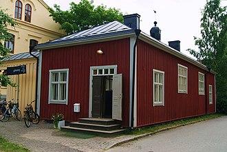Umeå Old Prison - Image: Umeå gamla fängelse tingssalen