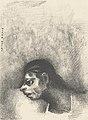 Un homme du peuple, un sauvage by Odilon Redon Van Gogh Museum p2751-002N2012.jpg