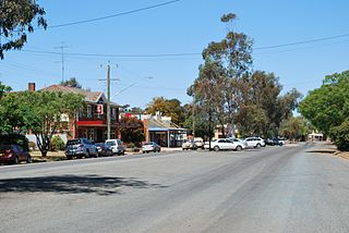 Ungarie Town in New South Wales, Australia