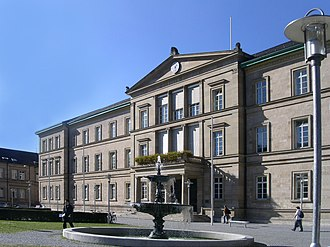 University of Tübingen - The Neue Aula