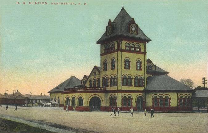Union Station, Manchester, NH