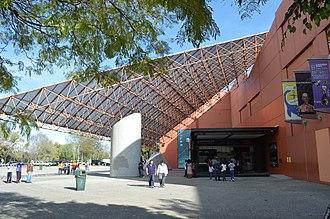 Universum (UNAM) - Main entrance to the museum