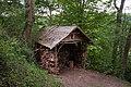 Unterstand mit Brennholz im Wald, D-56332 Brodenbach, 2017-08-16.jpg