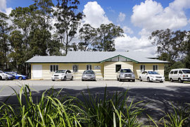 Upper Kedron Cedar Creek hall - carpark (6284780326).jpg