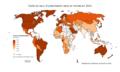 Urbanisation dans le monde en 2011.png