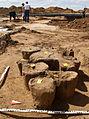 Urnengräberfeld Hohnhorst Ausgrabung Blockbergung.jpg