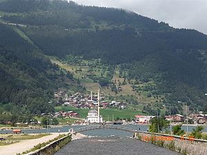 Trabzon Province - Uzungöl village and lake in Çaykara