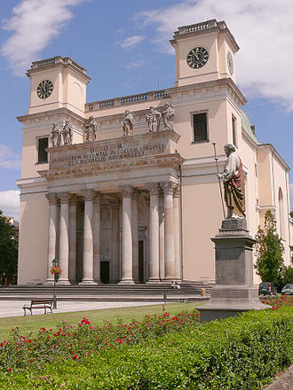Roman Catholic Diocese of Vác - The Cathedral of the Assumption and St Michael