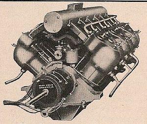 V12 engine - The 150 bhp V12 Dörwald marine motor, 1904
