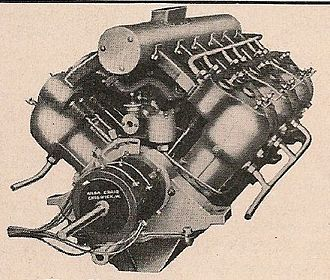 V12 engine - The 150 bhp V12 Dörwald marine motor, 1904