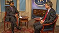 VOA Urdu Reporter Rehman Interviews Special Representative Feldman (12326311853).jpg