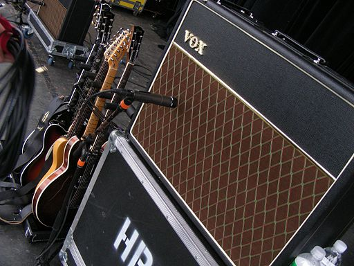 VOX AC30 - Honor by August, spring tour in 2007