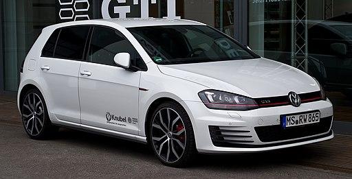 VW Golf GTI (VII) – Frontansicht, 22. August 2013, Münster