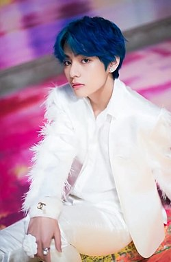 "V for Dispatch ""Boy With Luv"" MV behind the scene shooting, 15 March 2019 01.jpg"