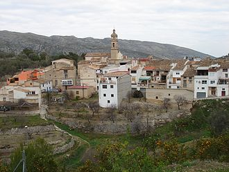 La Vall de Gallinera - Image: Vall de Gallinera
