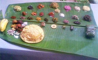 Sadhya - Valla sadhya