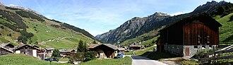 Vals, Switzerland - Panorama of Vals