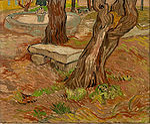 Van Gogh - Banco de Pedra no Asilo de Saint Remy.jpg