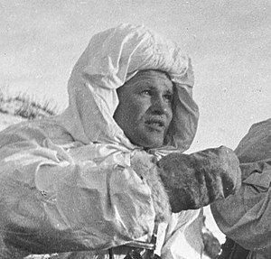 Snipers of the Soviet Union - Vasily Zaytsev in December 1942.