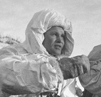 Vasily Zaytsev - Zaytsev in December 1942
