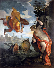 Perseus Freeing Andromeda