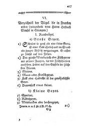 Verzeichniß der Vögel, die in Franken nisten, S. 457-464