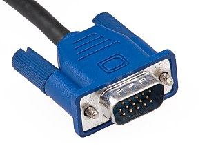 A male DVI-D (single link) connector