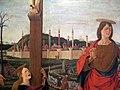 Vicino da ferrara (attr.), crocifissione, da s. antonio a ferrara, 1469-70 ca. 02.JPG