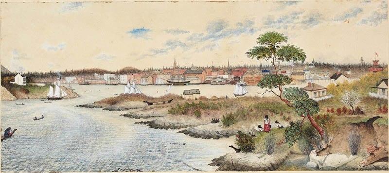 Victoria, British Columbia, 1864