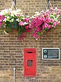 Victorian wall postbox, Norwood Junction station - geograph.org.uk - 900459.jpg