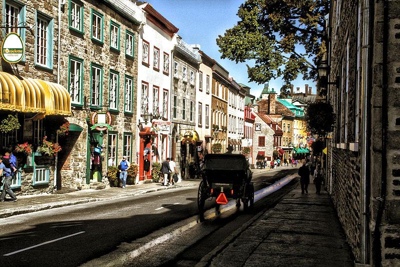 File:Vieux Quebec (Old Quebec) - Quebec City.jpg