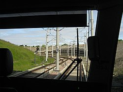 View from the back of a tram (geograph 4030591).jpg
