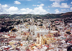View of Guanajuato from hill.jpg
