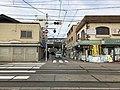 View of Sumiyoshi-Taisha Station in front of Sumiyoshi Grand Shrine 2.jpg