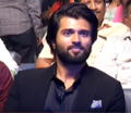 Vijay Devarakonda at the Pre-release event of Savyasachi.png