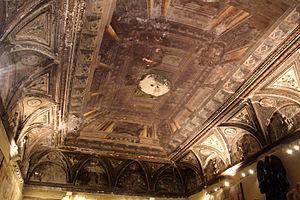 Annibale Angelini - Frescos by Angelini, substituting lost Perin del Vaga frescos in Villa del Principe, Genoa