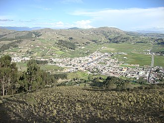 Cajabamba, Ecuador - Image: Villa la Unión, Colta