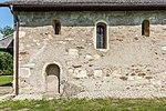 Villach Gratschach Filialkirche hll Philippus und Jakobus S-Wand Spolien 14042017 7530.jpg