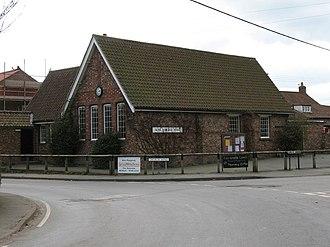 Alne, North Yorkshire - Image: Village Hall at Alne