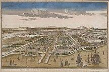 インドネシア-オランダ統治開始-Ville de Batavia c1780