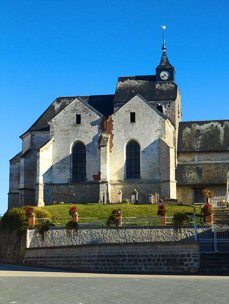 L'église de Villeseneux (Marne, France)