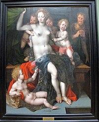 Vincent Sellaer: Jupiter and Antiope
