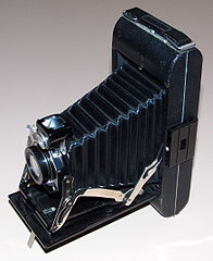 Vintage Kodak Junior Six-16 Series II (616) Film Camera, Made In USA, Circa 1932 - 1936 (13386001655).jpg