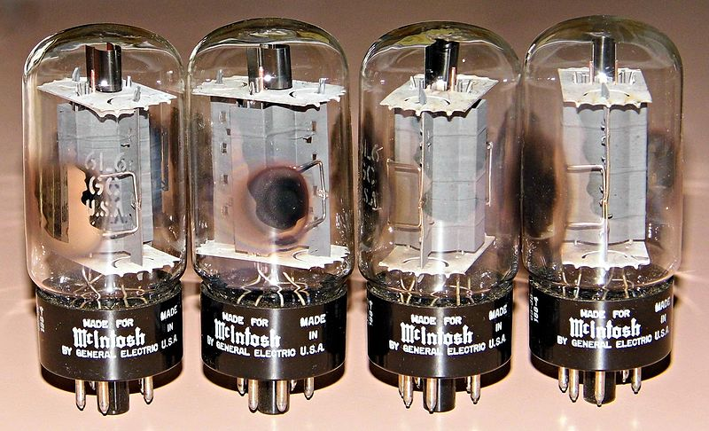 File:Vintage RCA Blackplate 6L6GC Vacuum Tubes Made For McIntosh, Made In USA (15643635699).jpg