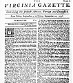 Virginia Gazette 10 10 1736.jpg